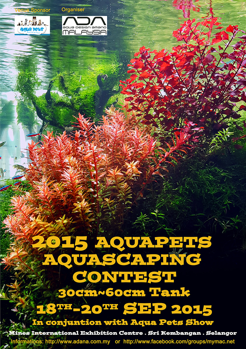 2015 AQUAPETS AQUASCAPING CONTEST